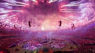 In pictures: Paralympic Closing Ceremony