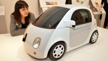 Google driverless car model