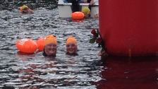 Hundreds take part in Lake District swimming challenge