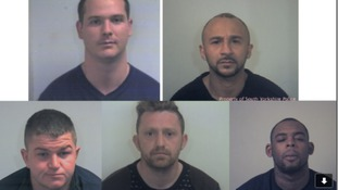 Drugs gang sent to prison for more than 35 years
