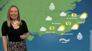 Philippa has Saturday's weather for the east