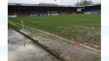 Scunthorpe United's match against Rovers postponed