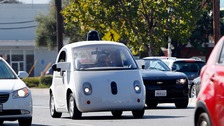 Google's driverless cars in the USA
