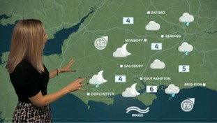 The latest weather update for the west with Philippa
