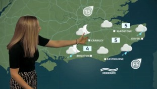 The latest weather update for the east with Philippa
