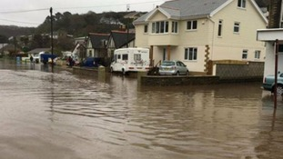 'Danger to life' flood warning issued for Portreath, Cornwall
