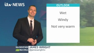 Central Weather: Becoming windy across the region with outbreaks of rain