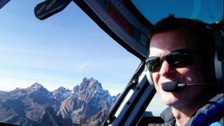 Roger Gower: 'Five held' over helicopter pilot's death