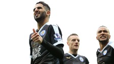 Leicester stun Man City to go clear at Premier League summit