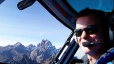 Roger Gower: 'Five arrested' over British helicopter pilot's death