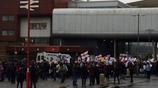 Pegida rally in Birmingham