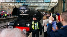 Flying Scotsman roars into Cumbria