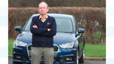 Dr Evans has an allergy to his new car