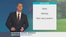 Wales weather: Heavy rain soon clearing this evening