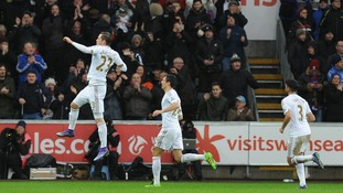 Premier League match report: Swansea 1-1 Crystal Palace