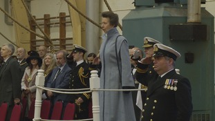 Princess Royal in Leeds today