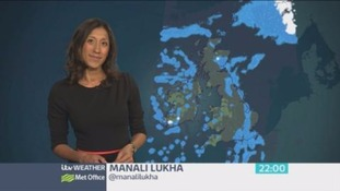Brighter skies tomorrow, but also further showers