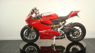 The rare Ducati 1299 Ducati Panigale R that is missing.