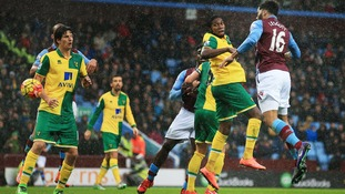 Premier League match report: Aston Villa 2-0 Norwich City