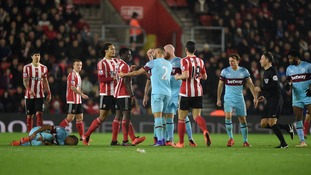 Premier League match report: Southampton 1-0 West Ham United