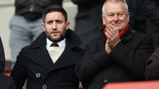 Johnson was in the stands at Bristol City today
