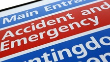 Surge in patients waiting for 12 hours in A&E departments