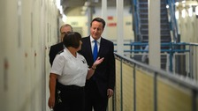 David Cameron visiting Wormwood Scrubs Prison