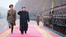 North Korea launches long-range rocket 'carrying satellite'