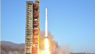 N Korea launches long-range rocket in defiance of UN sanctions