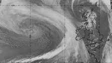 More stormy weather as Storm Imogen sweeps in