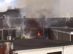Fire in Neath