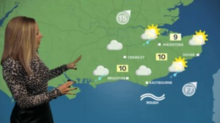 Philippa has Sunday's weather for the east