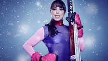 Cheshire Olympian Beth Tweddle seriously injured on skiing reality show