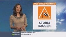 All eyes on Storm Imogen