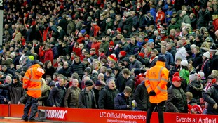 Liverpool fans' group warns of more protests over ticket prices after Anfield walkout
