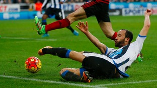 Andros Townsend 'humbled' by reception at St James' Park after home debut