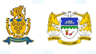 Whitehaven RLFC and Workington Town.