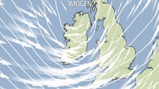 Storm Imogen: When and where will it hit hardest?