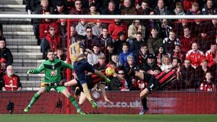 Premier League match report: Bournemouth 0-2 Arsenal