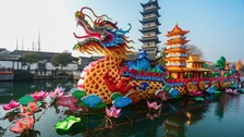 Chinese New Year Celebrations in east China's Zhejiang Province