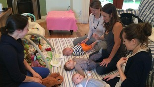 The scheme pairs new and expectant mums with trained mum and baby mentors.