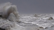 Storm Imogen: 'Phenomenal' seas and 80mph winds expected