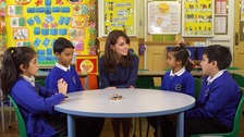 Duchess of Cambridge urges emotional support for children