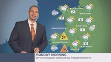 Wales weather: Severe gale force winds and feeling colder