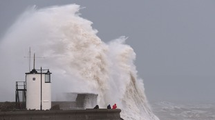 Storm Imogen lashes Britain with gales and torrential rain