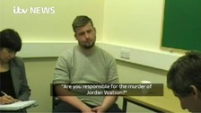 WATCH: Jordan Watson's killers interviewed by police