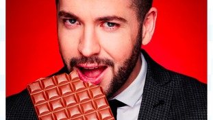 Shayne Ward poses for 'DECHOX' campaign