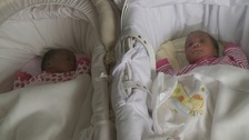 The latest set of twins for Abigale Adama and her husband Shaibu.