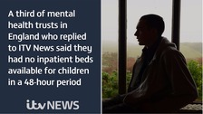 The beds crisis at mental health units for children