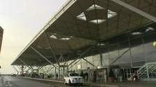 Cubeyda Jama was arrested at Stansted Airport on February 5.